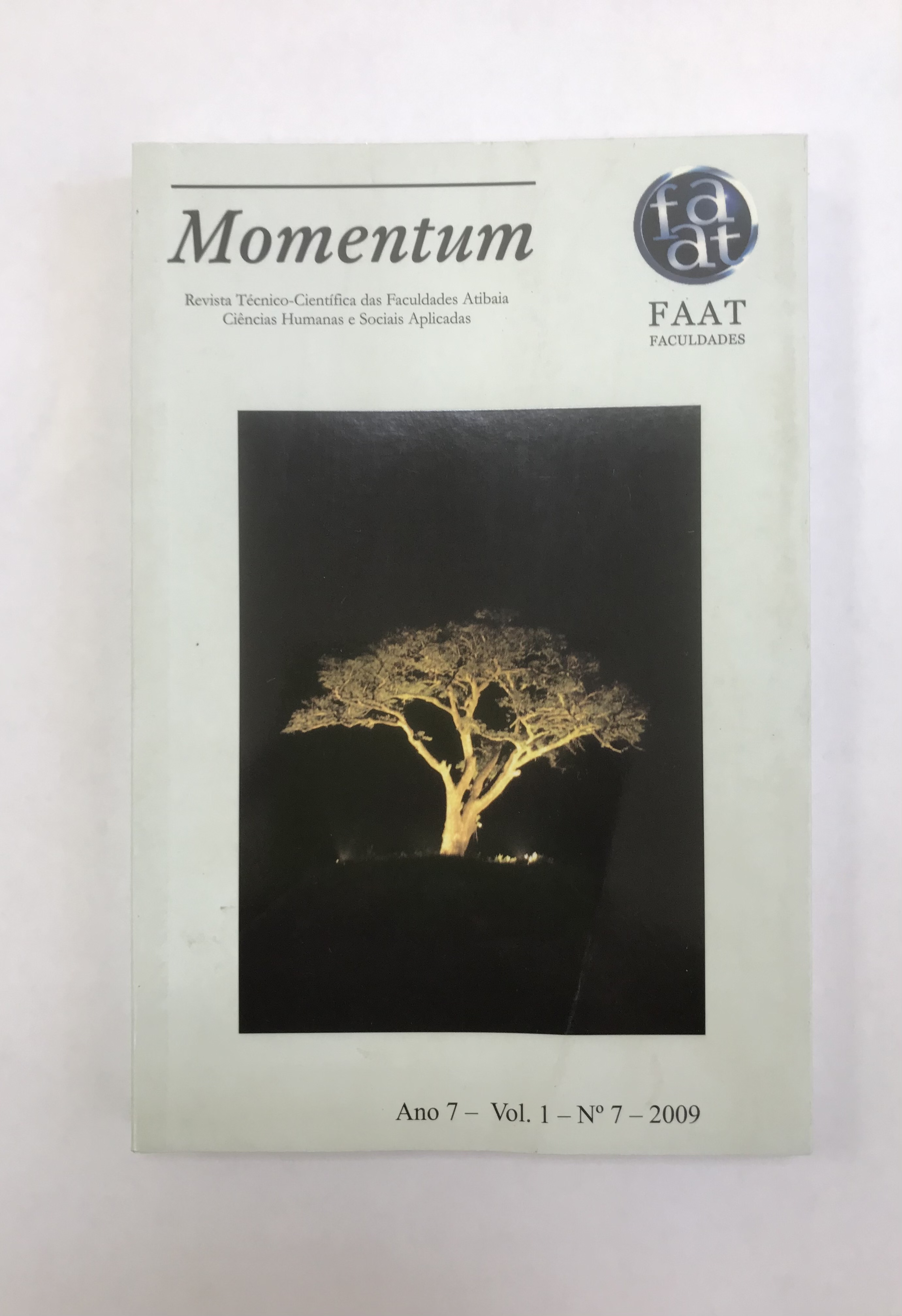 Visualizar v. 1 n. 7 (2009): Momentum